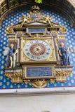 De klokketoren (Reis DE l'Horloge) - Parijs Royalty-vrije Stock Foto's