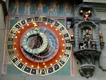 De klokketoren van Bern Stock Afbeeldingen