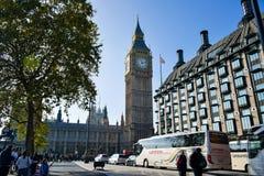 De klokketoren van Big Ben in Londen, Engeland royalty-vrije stock foto