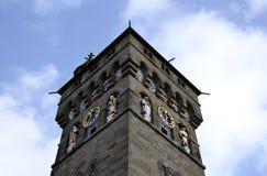De klokketoren van Cardiff royalty-vrije stock afbeeldingen