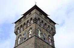De klokketoren van Cardiff royalty-vrije stock foto