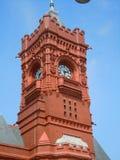 De klokketoren van Cardiff stock fotografie