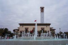 De klokketoren van Casablanca Stock Fotografie