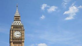 De klokketoren van de Big Ben, Londen stock footage