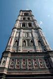 De Klokketoren van de Kathedraal van Florance Stock Afbeelding