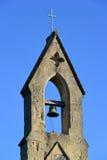 De klokketoren van het silhouet in Avila, Spanje Stock Afbeelding