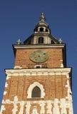De klokketoren van Krakau Royalty-vrije Stock Fotografie