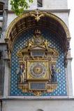 De Klokketoren van La Cité, Parijs, Frankrijk van Palais DE stock afbeelding