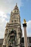 De klokketoren van München Royalty-vrije Stock Foto
