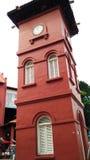 De Klokketoren van Malacca Stock Afbeelding
