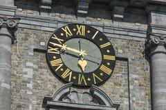 De Klokketoren van Mons, België stock foto