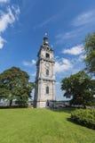 De Klokketoren van Mons, België stock afbeeldingen