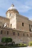 De Klokketoren van Palermo Cathedral Royalty-vrije Stock Foto