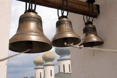 De klokketoren van Pskov stock foto's