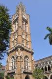 De Klokketoren van Rajabai, Mumbai Stock Afbeeldingen