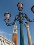De klokketoren van San Marco van Venetië Royalty-vrije Stock Foto