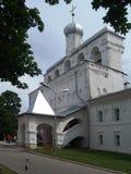 De klokketoren van Sofia (Veliky Novgorod, Rusland) Stock Afbeeldingen