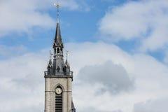 De klokketoren van Tournai, België royalty-vrije stock fotografie
