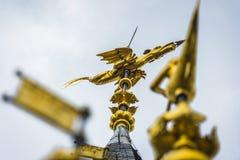 De klokketoren van Tournai, België stock foto