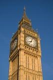 De klokketoren van Westminster stock foto's