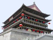 De Klokketoren van Xian Royalty-vrije Stock Foto's