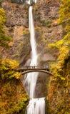 De Kloof Oregon van de Rivier van Colombia van de Waterval van Multnomah stock afbeeldingen