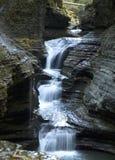 De kloof van de waterval Stock Foto