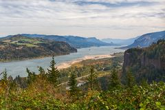 De Kloof van de Rivier van Colombia, Oregon Stock Foto's
