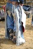 De kloofjes van de cowboy Stock Afbeeldingen