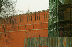 De kloostermuur Stock Afbeeldingen
