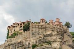 De Kloosters van Meteora, Griekenland Stock Afbeelding
