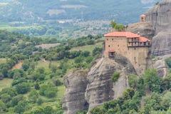 De Kloosters van Meteora, Griekenland Royalty-vrije Stock Afbeeldingen