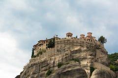 De Kloosters van Meteora, Griekenland Royalty-vrije Stock Afbeelding