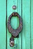 De klopperslanzarote van Spanje abstract deurhout Royalty-vrije Stock Fotografie