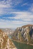 De Kloven van Donau Stock Foto's