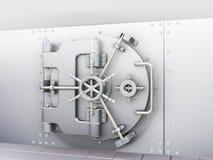 De kluis van de bank Royalty-vrije Stock Foto