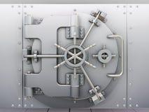 De kluis van de bank Stock Foto