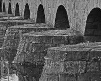 De kluis van de steenbrug Stock Foto