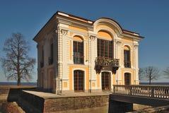 De Kluis van Pavillion. Peterhof royalty-vrije stock afbeelding