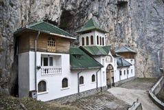 De kluis van Pestera, Roemenië Royalty-vrije Stock Foto's