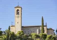 De kluis van Santeloi in Tarrega, Provincie van Lleida, Catalonië, Spanje Royalty-vrije Stock Foto