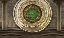 De kluis van Tijd Stock Afbeeldingen