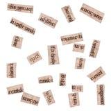 De Knipsels van Word van Boeken Stock Foto