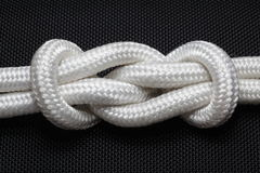 De knoop van de kabel Royalty-vrije Stock Fotografie