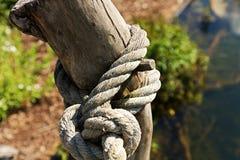 De knoop van de kabel Royalty-vrije Stock Afbeelding