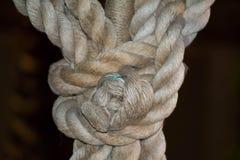 De knoop van de kabel Stock Afbeelding