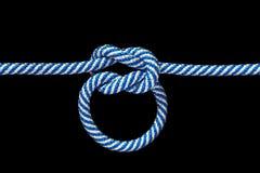 De knoop van de kabel Royalty-vrije Stock Foto's