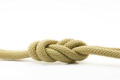 De knoop van de kabel. stock afbeelding