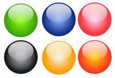 De knoop van de kleur Stock Foto