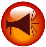 De knoop van de megafoon Royalty-vrije Stock Afbeeldingen
